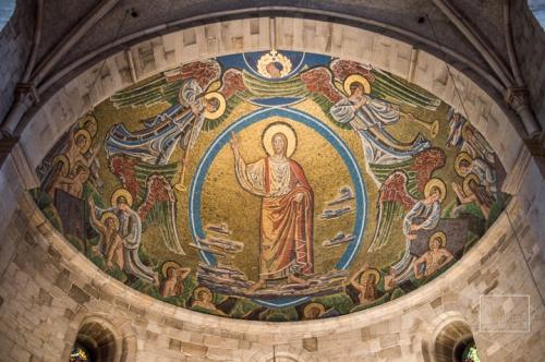lund, cathédrale, cathedral, mosaïque, mosaic,résurrection des morts,