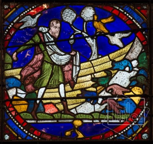 tekoaphotos, semeur, évangile, vitrail, cathédrale, canterbury,