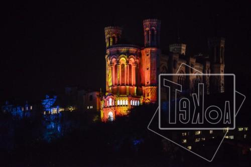 tekoaphotos,basilique,notre-dame,fourvière,fête des lumières,2013,lyon