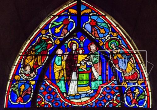 tekoaphotos,vitrail,cathédrale,saint jean,lyon