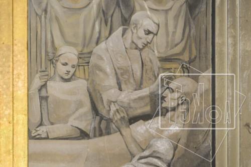 tekoaphotos,sacrement des malades,extrême onction,choeur,chapelle,séminaire,lille