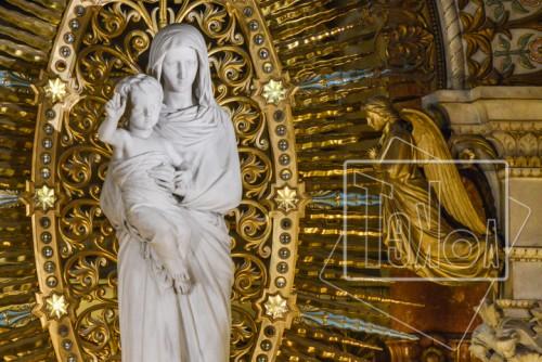 tekoaphotos,vierge à l'enfant,ange,basilique,notre dame,fourvière,lyon